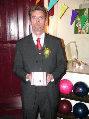 Wolter Diever in 2005, 25 jaar lid van de BVH