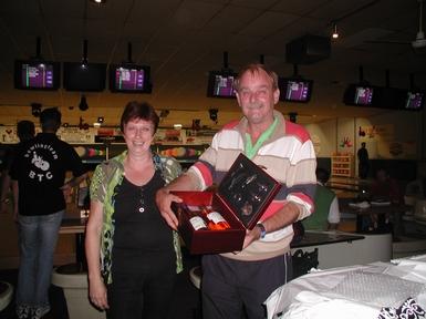 Jan en Marie Schippers in 2008, 25 jaar lid van de BVH