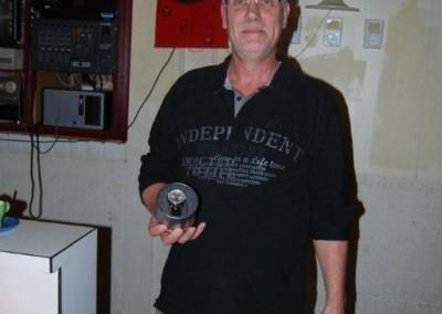 Klaas Ykema in 2010, 25 jaar lid van de BVH