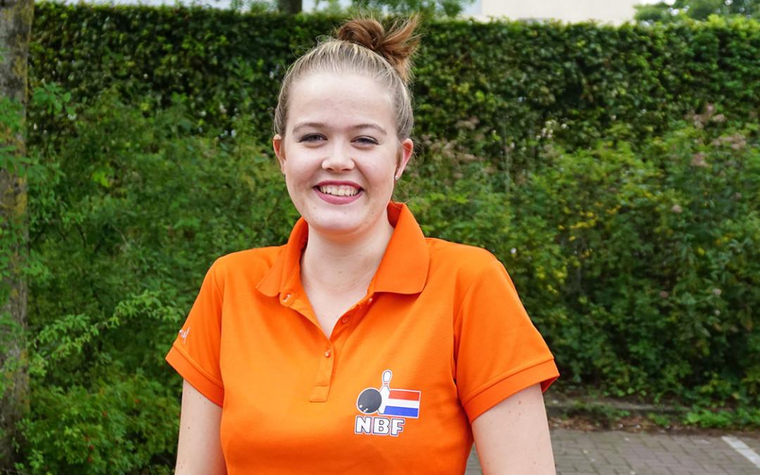 Tanja in voorselectie Jong Oranje WK Jeugd 2018